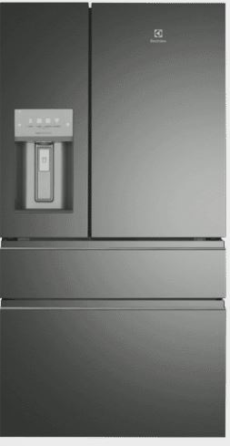 Factory Second Electrolux French Door Fridges 680 Ltr French Door Ice & Water Dark Stainless Steel Ehe6899Ba