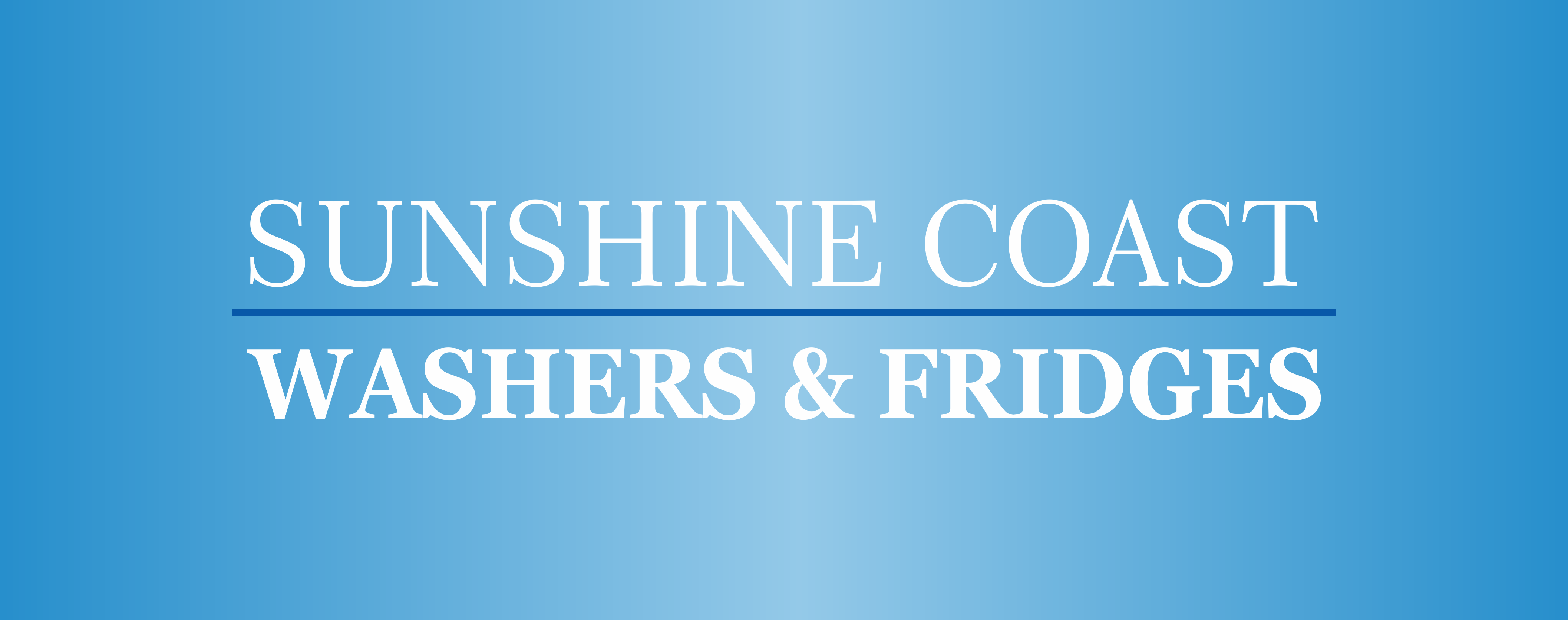 Sunshine  Coast Washers and Fridges