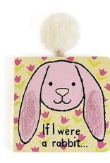 Jellycat If I Were a Rabbit Book Pink
