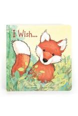 Jellycat I Wish Fox Book