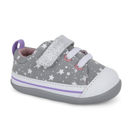 See Kai Run Stevie Infant Grey Stars