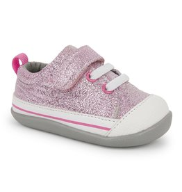 See Kai Run Stevie Infant Pink Glitter