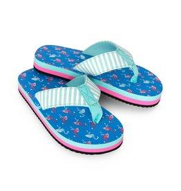 Hatley Flamingo Flip Flops