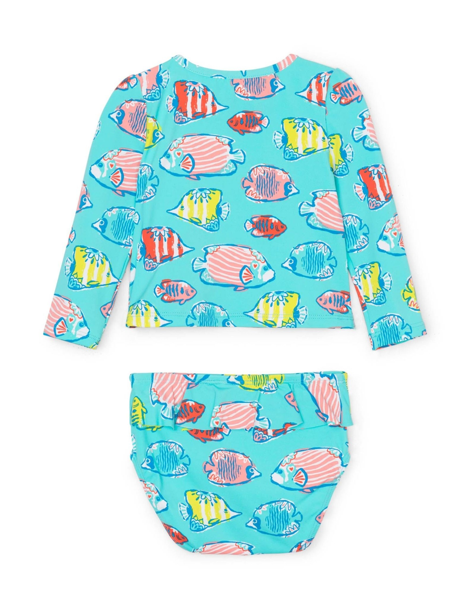 Hatley Colorful Fishies Baby Rashguard Set