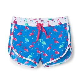 Hatley Fancy Flamingos Swim Shorts