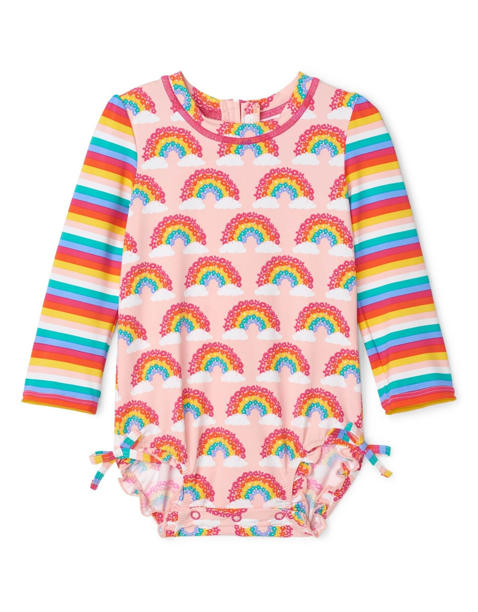 Hatley Magical Rainbows Baby Rashguard Swimsuit