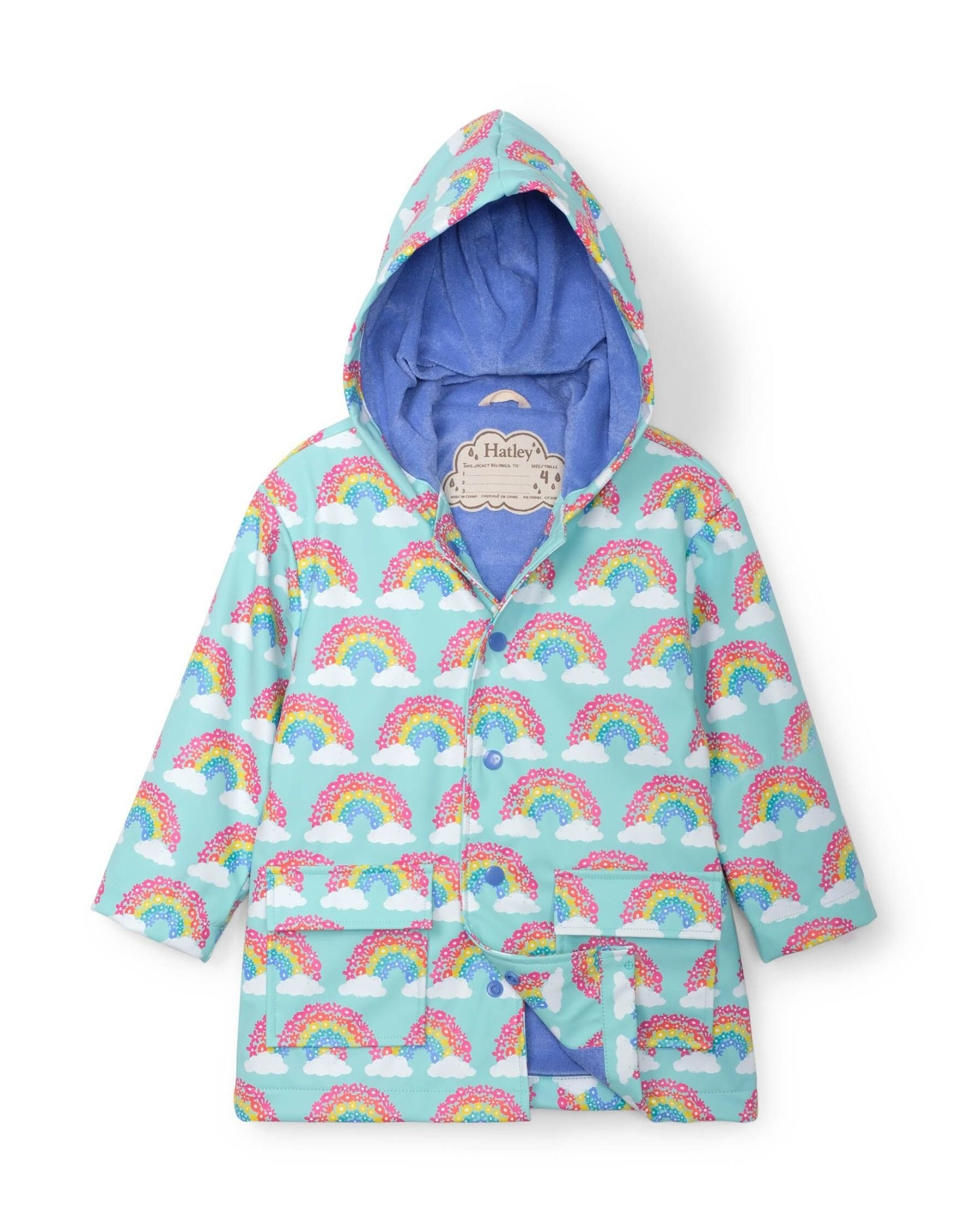 Hatley Raincoat Magical Rainbows