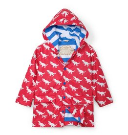 Hatley Color Changing Raincoat T-Rex Silhouettes
