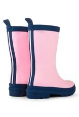 Hatley Pink & Navy Matte Rain Boots