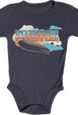 Rowdy Sprout Led Zeppelin Short Sleeve Onesie