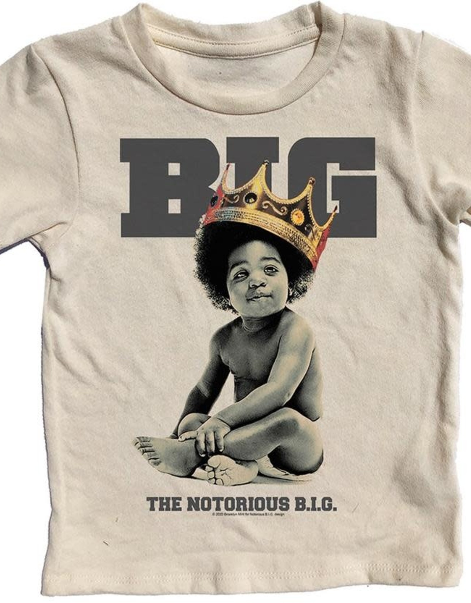 Rowdy Sprout Biggie Smalls Short Sleeve Tee