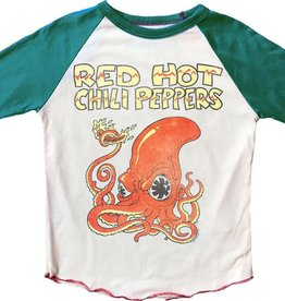 Rowdy Sprout Red Hot Chili Peppers Raglan Short Sleeve Tee