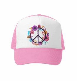 Boho Peace Trucker Hat