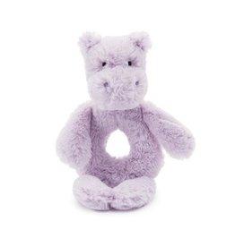 Jellycat Bashful Hippo Ring Rattle