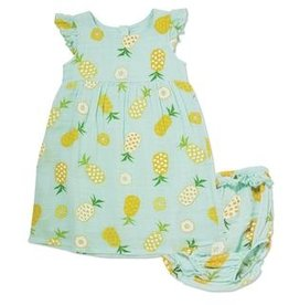 Angel Dear Angel Dear Dress/Bloomer Pineapple