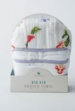 Little Unicorn Little Unicorn Big Kid Hooded Towel - Mermaid