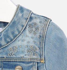 Mayoral Mayoral Mini Stitched Denim Jacket