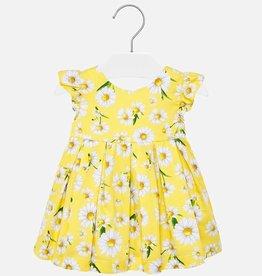 Mayoral Mayoral Mini Yellow Daisy Dress