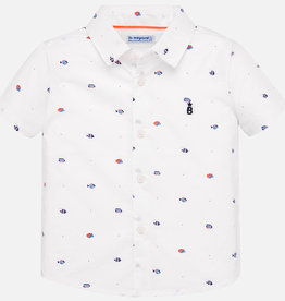 Mayoral Mayoral Mini Tropical Fish Button Down