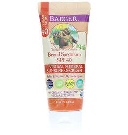 Badger Clear Sport Tangerine & Vanilla Kids Sunscreen 2.9