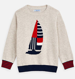 Mayoral Mayoral Sailboat Sweater