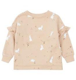 Rylee & Cru Rylee & Cru Snow Bunny Sweatshirt Dress