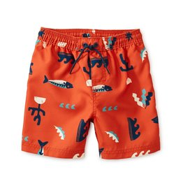 Tea Collection TEA Printed Baby Swim Trunks Under the Sea