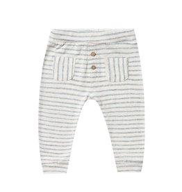 Rylee & Cru Rylee & Cru stripe baby pant sea
