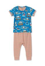 Hatley Bottled Ships Baby Organic Cotton PJ Set