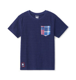 Hatley Navy Graphic Front Pocket Tee