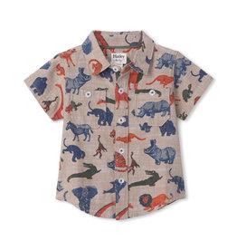 Hatley Jungle Safari Baby Button Down Shirt
