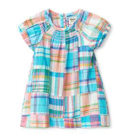 Hatley Smocked Madras Babydoll Dress