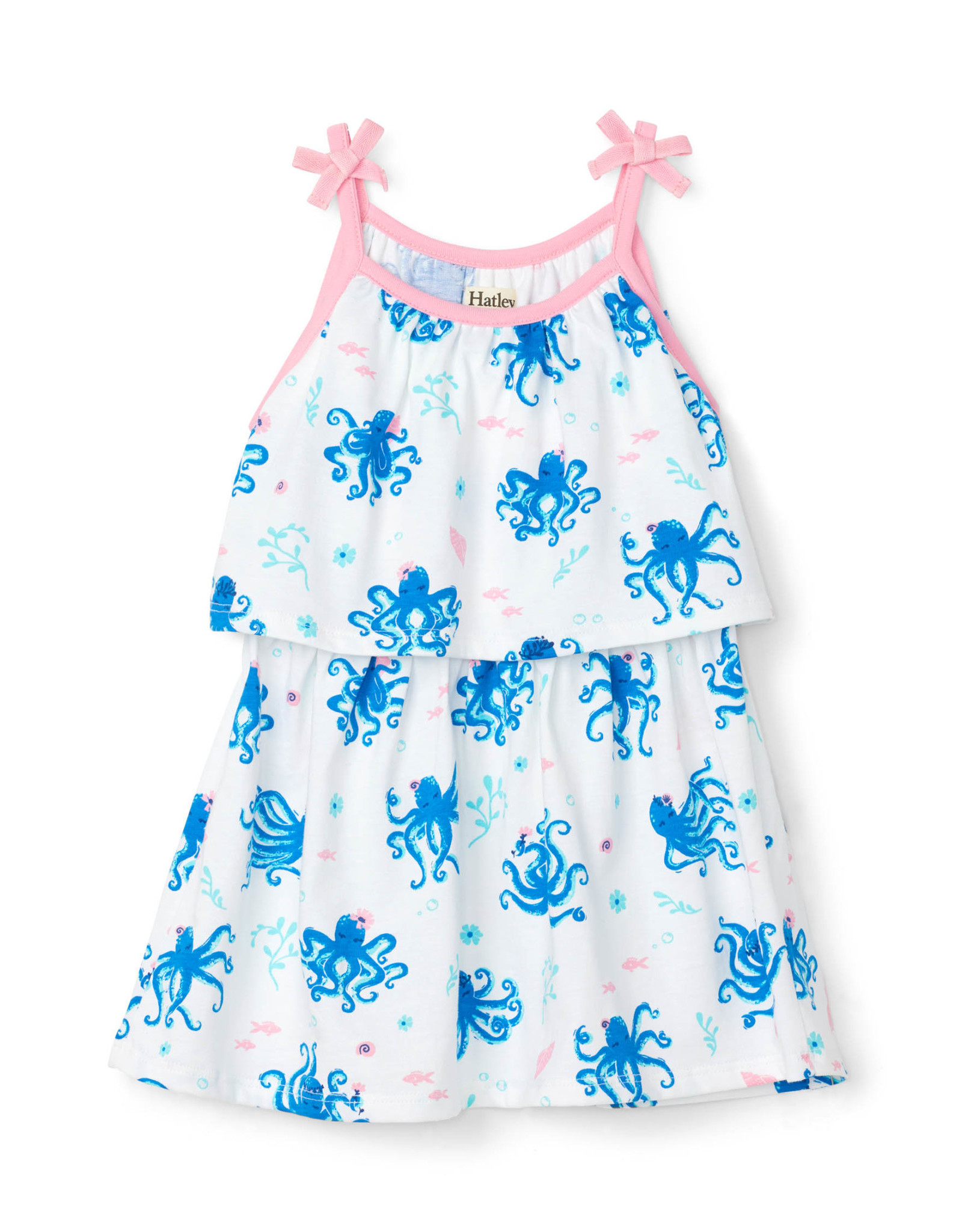 Hatley Pretty Octopuses Baby Layered Dress