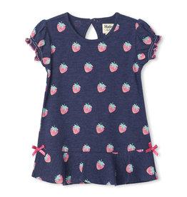 Hatley Strawberries Baby Flounce Hem Dress