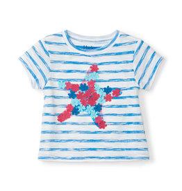 Hatley Floral Star Baby Tee