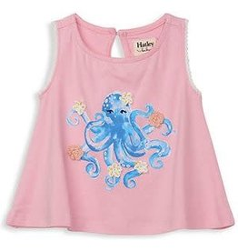 Hatley Pretty Octopus Baby Tank Top