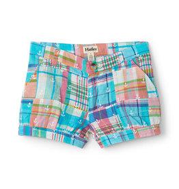 Hatley Seashore Madras Plaid Bloomer Shorts