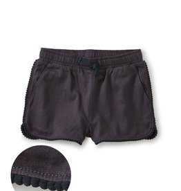 Tea Collection TEA Pom Pom Trim Shorts Indigo