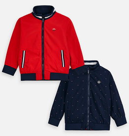 Mayoral Mayoral Reversible Windbreaker Red/Hibiscus