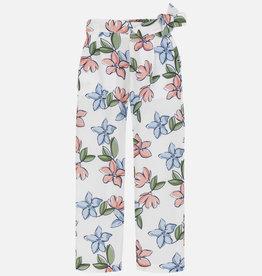 Mayoral Mayoral Printed Pants Crudo Floral