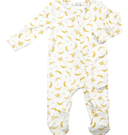 Angel Dear Angel Dear Bananas Zipper Footie