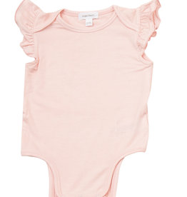Angel Dear Ruffle Sleeve Onesie Pink