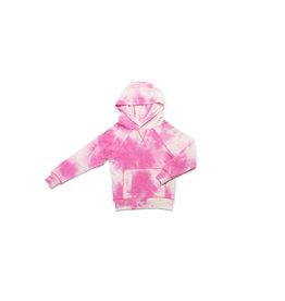 EGG EGG Pink Cloud Tye Tie Dye Larson Hoodie