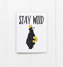 Stay Wild Bear Card