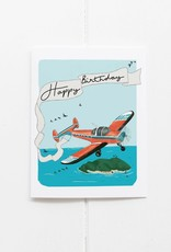 Birthday Plane Card