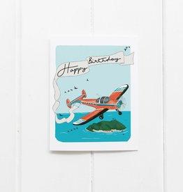 Birthday Plane Card