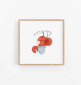 Baby Lobstah Wall Print