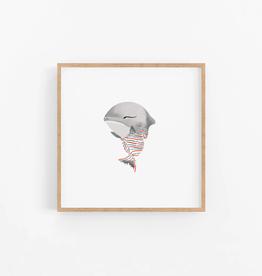 Baby Great White Shark Wall Print