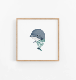 Baby Humpback Whale Wall Print
