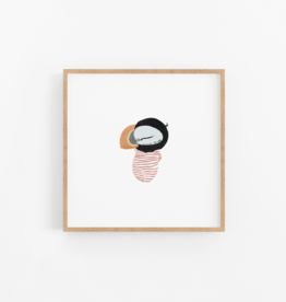 Baby Puffin Wall Print